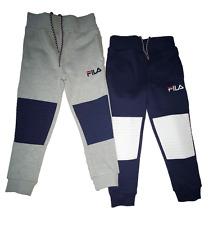 Boys FILA Jogger Sweatpants - Cyrus Colorblock Knee - Navy or Grey - NWT