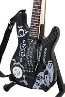 Miniature Guitar Kirk Hammett Metallica OUIJA & Strap