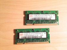 Módulos de 2 512mb 2rx16 pc2-5300s de memoria Memory Apple PowerMac