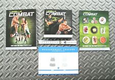 BeachBody Les Mills Combat 5-Disc Dvd Workout Set w/ Guide Books, Tape & Tracker