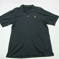 Masters Collection Shirt Men's Golf Polo Short Sleeve Large Black Amen Corner