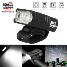 USB Rechargeable LED Bicycle Headlight Bike Head Light Front Lamp Cycling 800lm