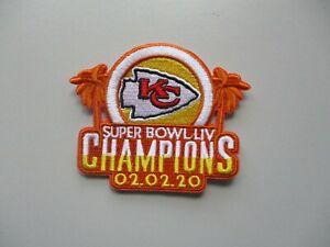 LOT OF (1) NFL KANSAS CITY CHIEFS SUPER BOWL LIV CHAMPIONS PATCH STYLE B 54A