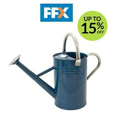 Kent & Stowe 34896 Metal Watering Can Midnight Blue 4.5 litre