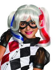 Harley Quinn Peluca, Disfraz De Niños Accesorio