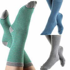 Damen-Freizeitsocken aus Baumwolle ohne Muster