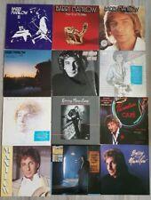 Barry Manilow - 12 Studio álbumes-Vinyl LP Colección-Discography (1974 - 1989)