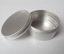 5 Aluminum Cosmetic Jar Cream Empty Bottle Cream Containers Jars Pill Box 50ml