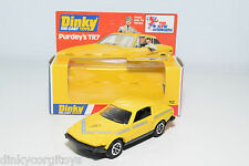 DINKY TOYS 112 TRIUMPH PURDEY'S TR7 TR 7 MINT BOXED RARE SELTEN