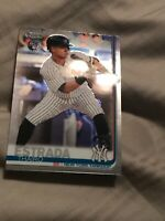 Thairo Estrada 2019 Topps Chrome Update Mega box Rookie Card #28 YANKEES