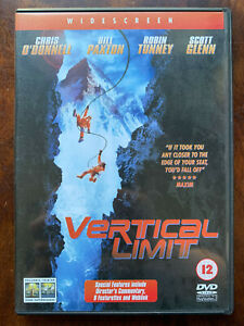 Vertical Limit DVD 2000 Action Mountaineering Movie Thriller w/ Chis O'Donnell