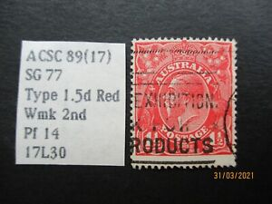 World Stamps: KGV Variety - USED - MIXED ITEMS - Great Item, Must Have! (Z10734)