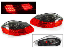 Euro Red / Smoke LED Tail Light Lamp Pair For 97-04 Porsche Boxster 986 Roadster