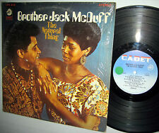 BROTHER JACK McDUFF the natural thing STEREO LPS 812 CADET LP Deep groove label