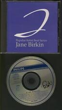 JANE BIRKIN Popular Artist Best Series JAPANESE PHILIPS CD USED