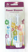 Flower Blossom Plunger Set of 4, Sugarcraft, Cake Decorating, Fondant, Baking