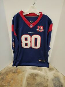 HOUSTON TEXANS # 80 ANDRE JOHNSON VTG NIKE NFL JERSEY Adult Size XL