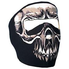Evil Skull Neoprene Full Facemask Lightweight Stretchable velcro closure OSFM