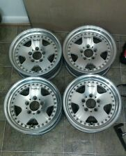 "15"" Work modex deerfield JDM WHEELS 5x114.3 15x6 +0 RIMS vip rare old school ssr"