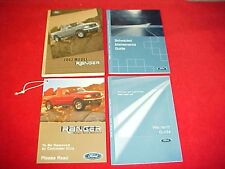 2002 ORIGINAL NEW FORD RANGER PICKUP TRUCK OWNERS MANUAL SERVICE GUIDE BOOK KIT