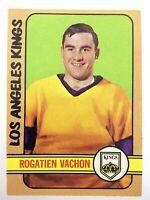1972-73 Rogatien Vachon Los Angeles Kings 100 OPC O-Pee-Chee Hockey Card P082