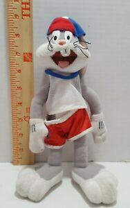 Warner Bros Space Jam Bugs Bunny Basketball Plush 1996 Warner Bros.