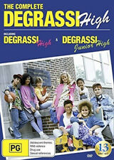 Degrassi High / Degrassi Junion High Complete Series NEW PAL/NTSC 13-DVD Box Set