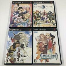 PS2 Shining Tears / Force Neo / Force EXA / Wind Sony PlayStation2 NTSC-J