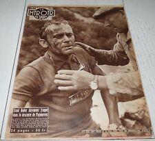MIROIR SPRINT 640 1957 CYCLISME TOUR FRANCE BOBER PRIVAT ANQUETIL LAUREDI