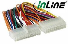 InLine Strom Adapter intern, 20pol ATX Netzteil zu 24pol EPS12V Mainboard, 16cm