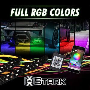 Million Color LED Strip Underglow Underbody Neon Lights Kit App Phone Truck SUV