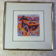 "John Deere Limited Edition J Dryden 11""X 11"" Framed Print  #146/1000"