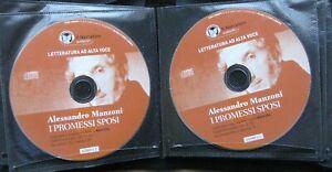Audiolibro audiobook 2  cd MP3  i  PROMESSI SPOSI   Alessandro  MANZONI / usato