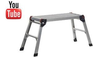 Werner 78069 Compact Handy Aluminium Work Platform - 150kg Load Capacity - New