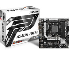Placa base ASRock AM4 A320m Pro4