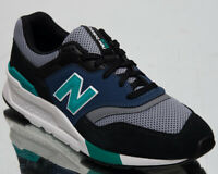 New Balance 997H Mens Black Blue Casual Lifestyle Shoes Low Sneakers CM997-HZK
