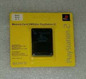 Memory Card for Sony Playstation 2 PS2 Brand New & Factory Sealed 8MB
