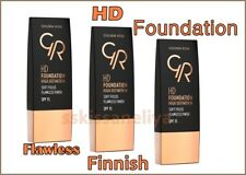 Golden Rose, HD Foundation High Definition, Soft Focus & Flawless Finish SPF 15