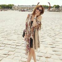 Retro New Chiffon Fashion Soft Women Shawl Silk Scarf Wrap Stole