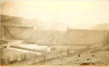 1938 Grafton West Virginia Tygart Reservoir Dam Loar Son RPPC real photo 9086