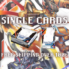 Digimon Card Game Booster Box BT06 Double Diamond BT6 Single Cards ENG