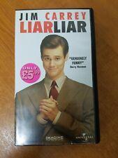 Liar Liar Jim Carrey PAL VHS Video Tape