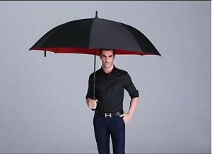 High Quality Business Men's Windproof Anti Sun Long Handle Automatic Umbrella