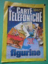 Bustina Figurina Stickers Carte telefoniche Edigamma Packet Tüten Pochette /CE/