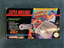 Vintage Super Nintendo (SNES) Streetfighter 2 console bundle Good Condition