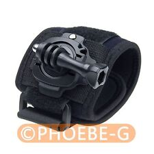 360° Rotation Wrist Hand Strap Band Holder with Mount for GoPro Hero 2 3 3+