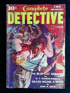 Complete Detective Pulp Magazine 8/ 1938
