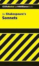 NEW Shakespeare's Sonnets, 1st Edition (Cliffs Notes Series) by James K. Lowers