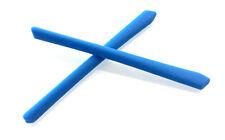 OAKLEY 8076 CROSSLINK ZERO BLUE EARSOCKS KIT TERMINALI BLU RICAMBIO REPLACEMENT