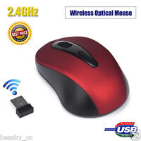 2.4GHz Mini Wireless Mouse USB Optical Mice USB Receiver For PC Laptop Computer
